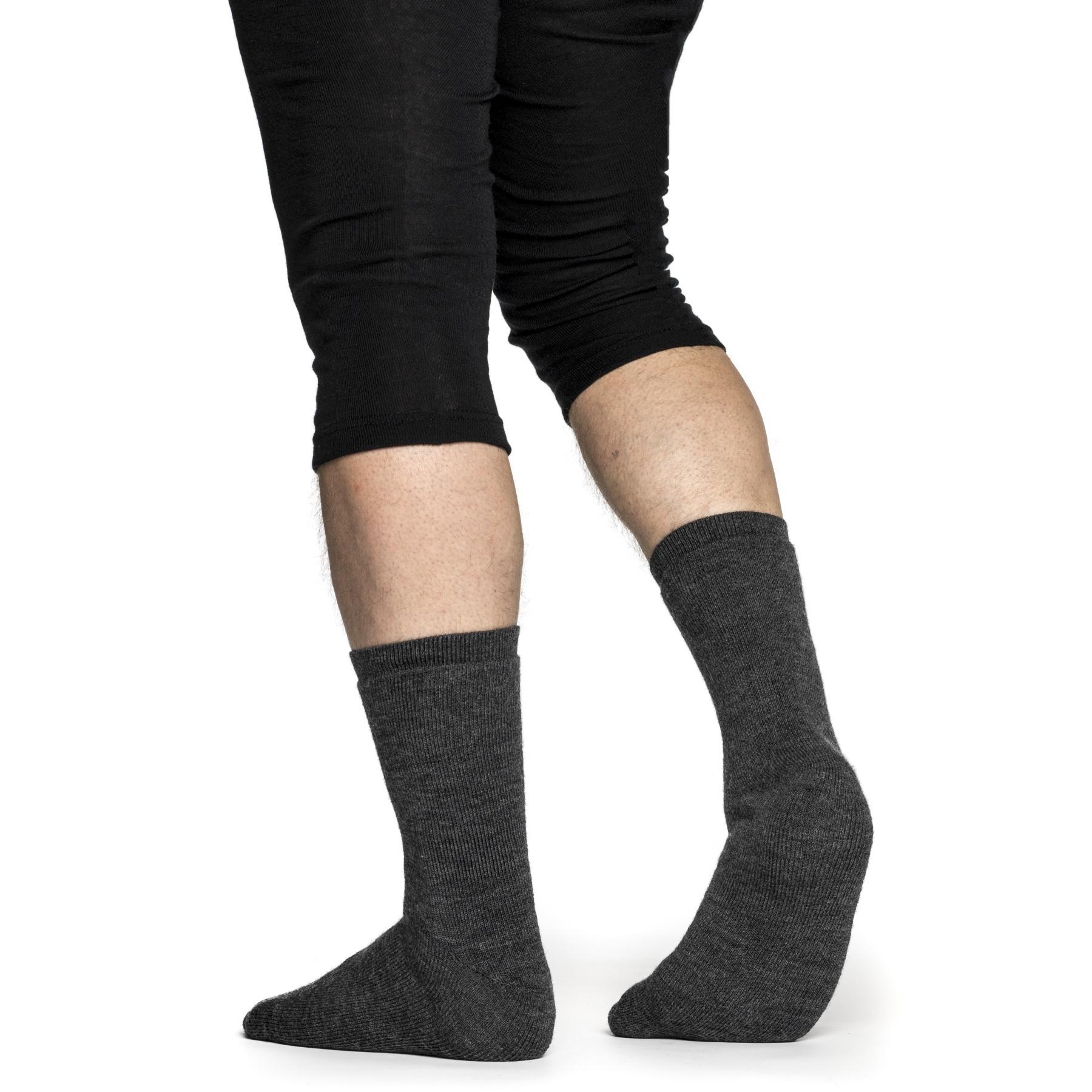 Image of Woolpower Socks 400 - grey