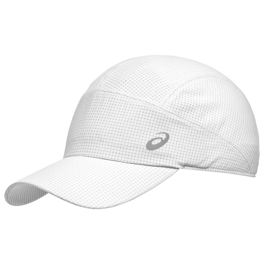 asics Lightweight Running Cap - brilliant white