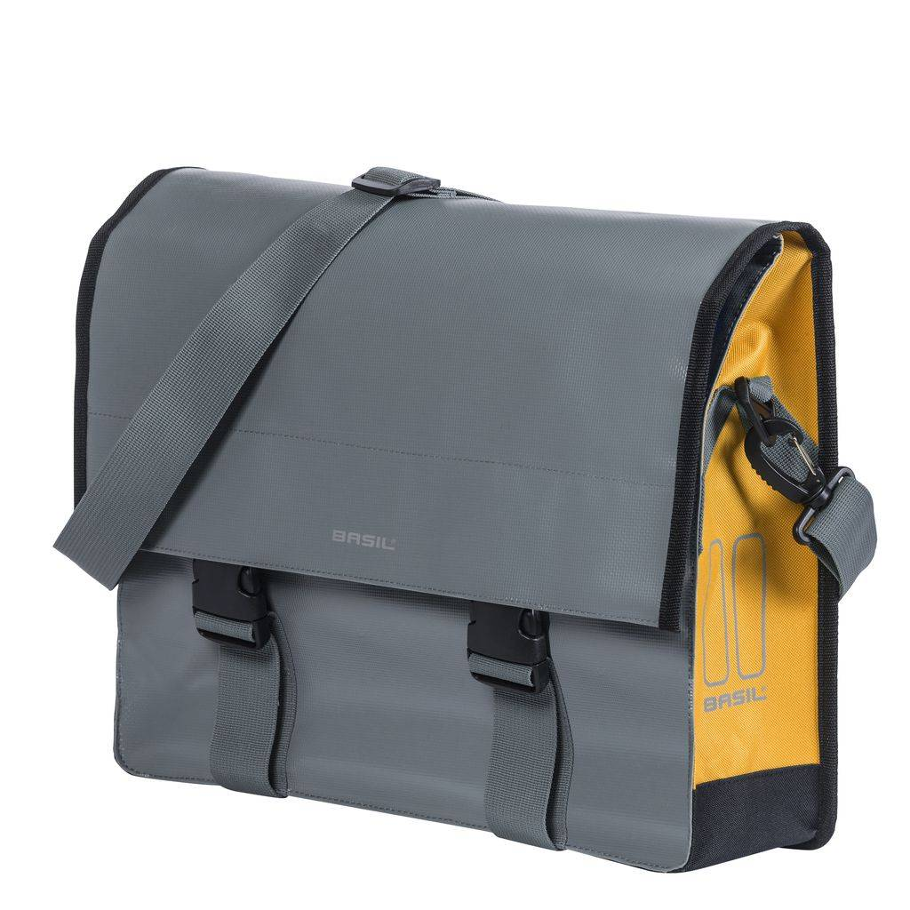 Basil Urban Load Messenger Bag - grey