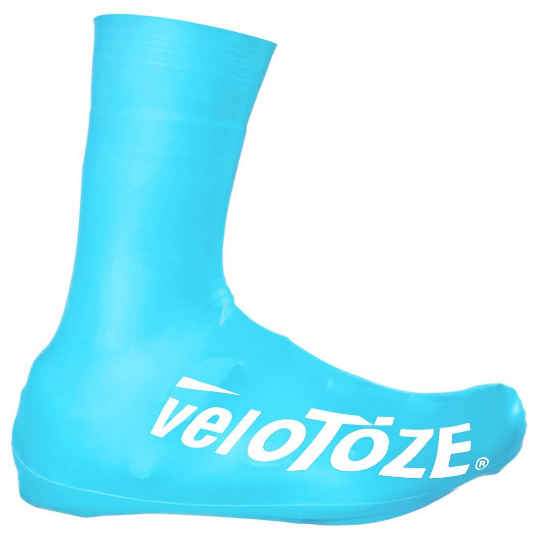 Bild von veloToze Tall Shoe Cover Road 2.0 - Überschuh Lang - blue