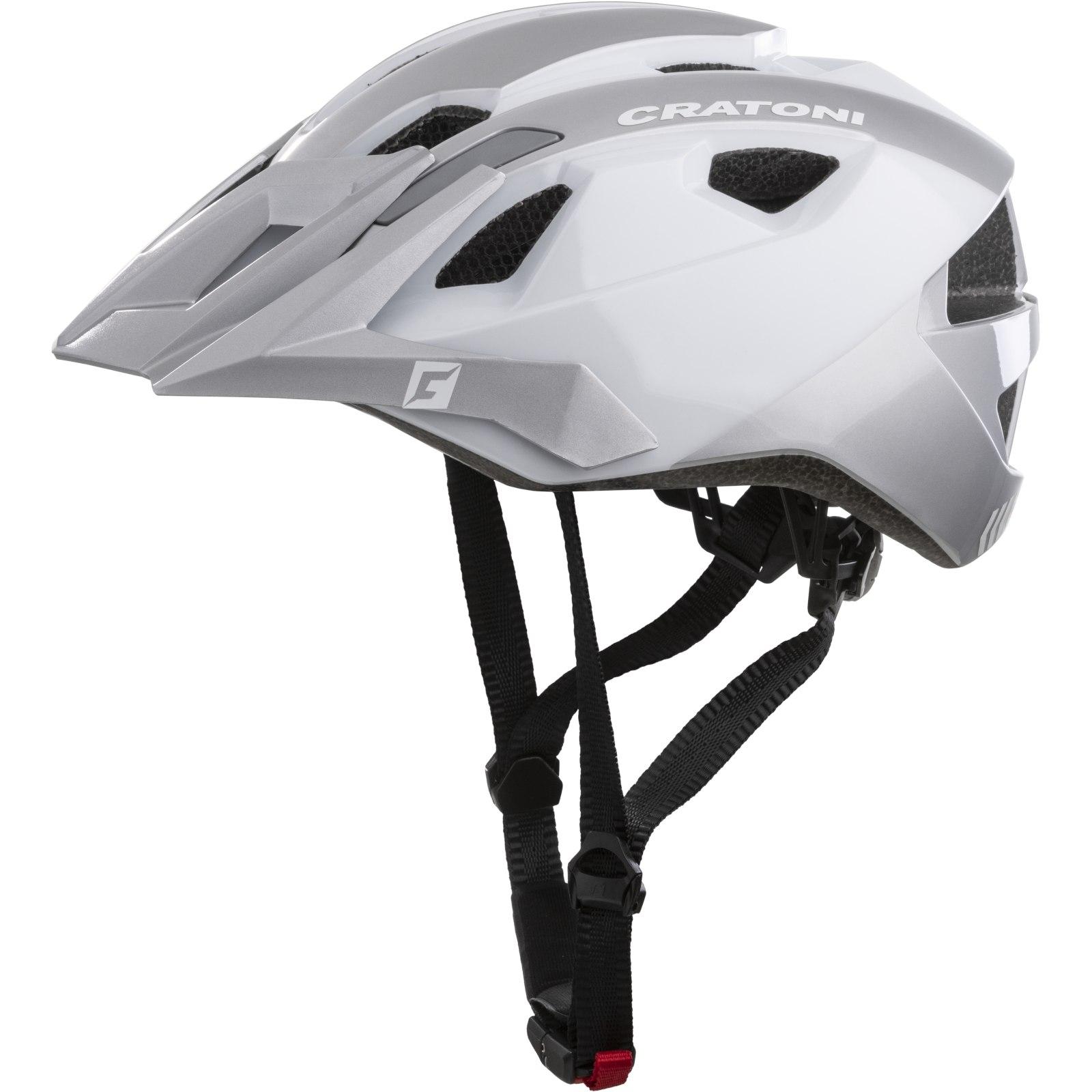 CRATONI AllRide Helmet - white-silver glossy