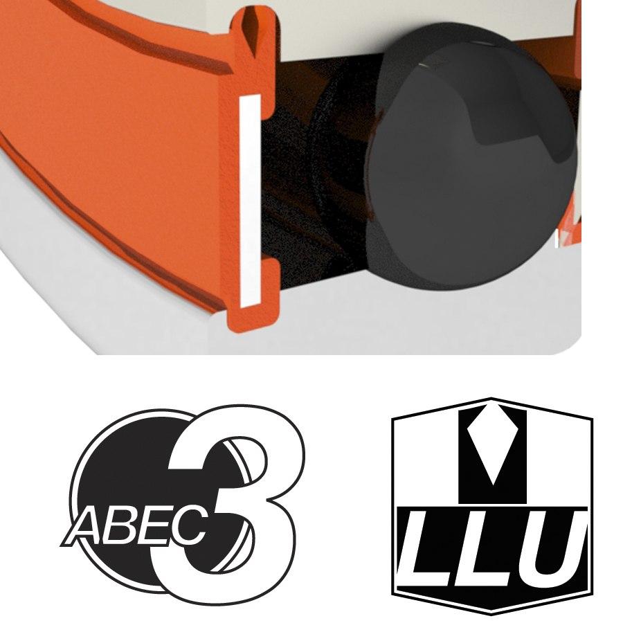 Image of Enduro Bearings 686 LLU - ABEC 3 - Ball Bearing - 6x13x5mm