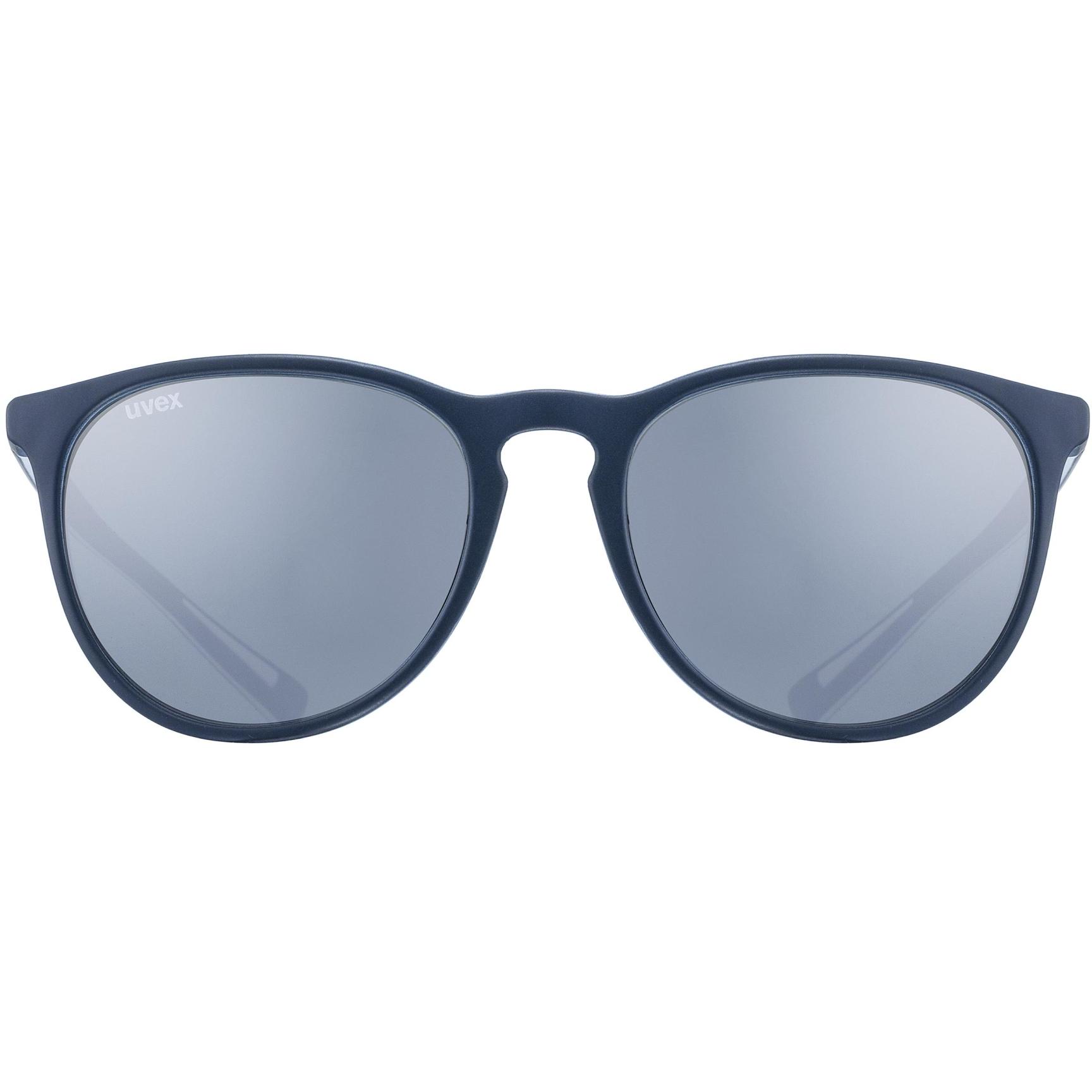 Image of Uvex lgl 43 Glasses - blue mat/litemirror silver