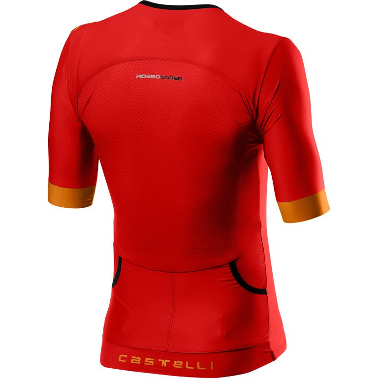 Image of Castelli Free Speed 2 Race Top 20093 - red/fiery red 023