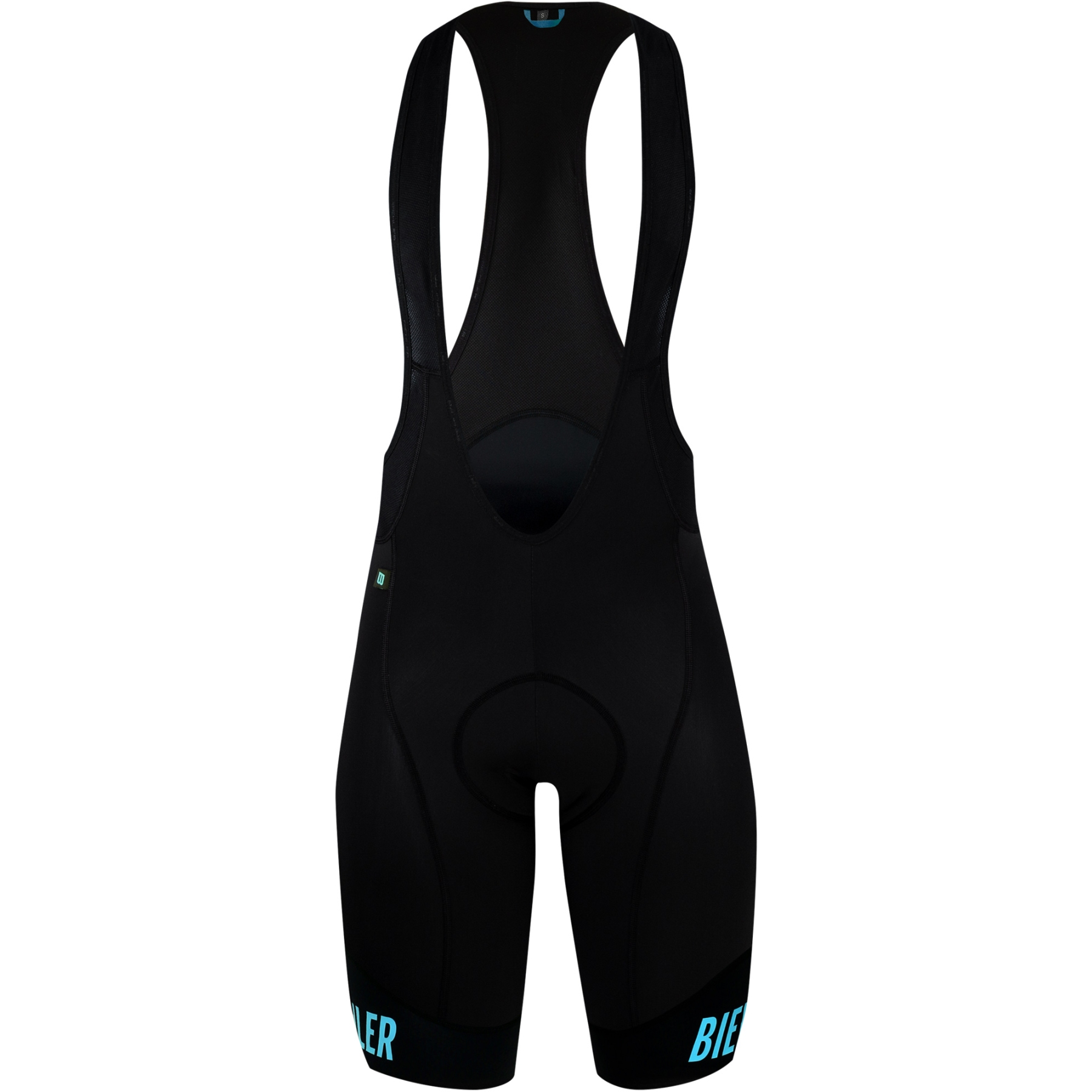 Biehler Essential Bib Shorts - black/biehler blue