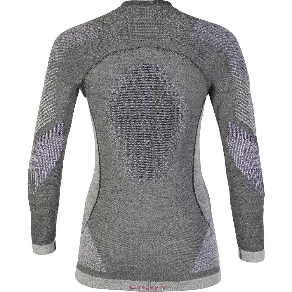 Bild von UYN Fusyon Underwear Langarmshirt Damen - Anthracite/Purple/Pink