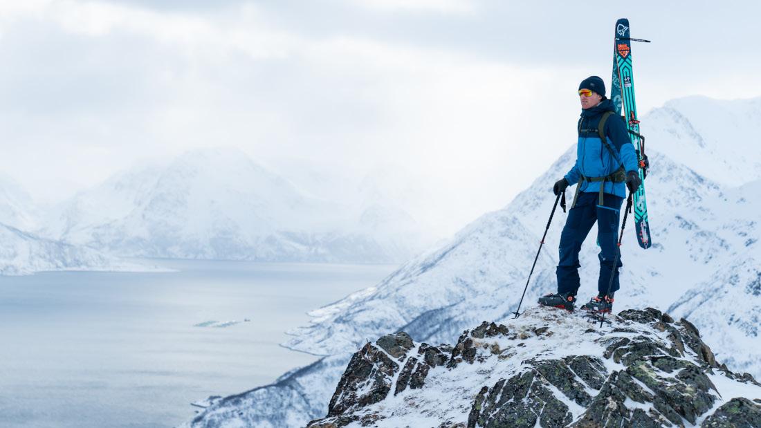 Esquí de travesía y Freeride con protección y diseño - Norrøna lofoten, tamok, røldal y lyngen