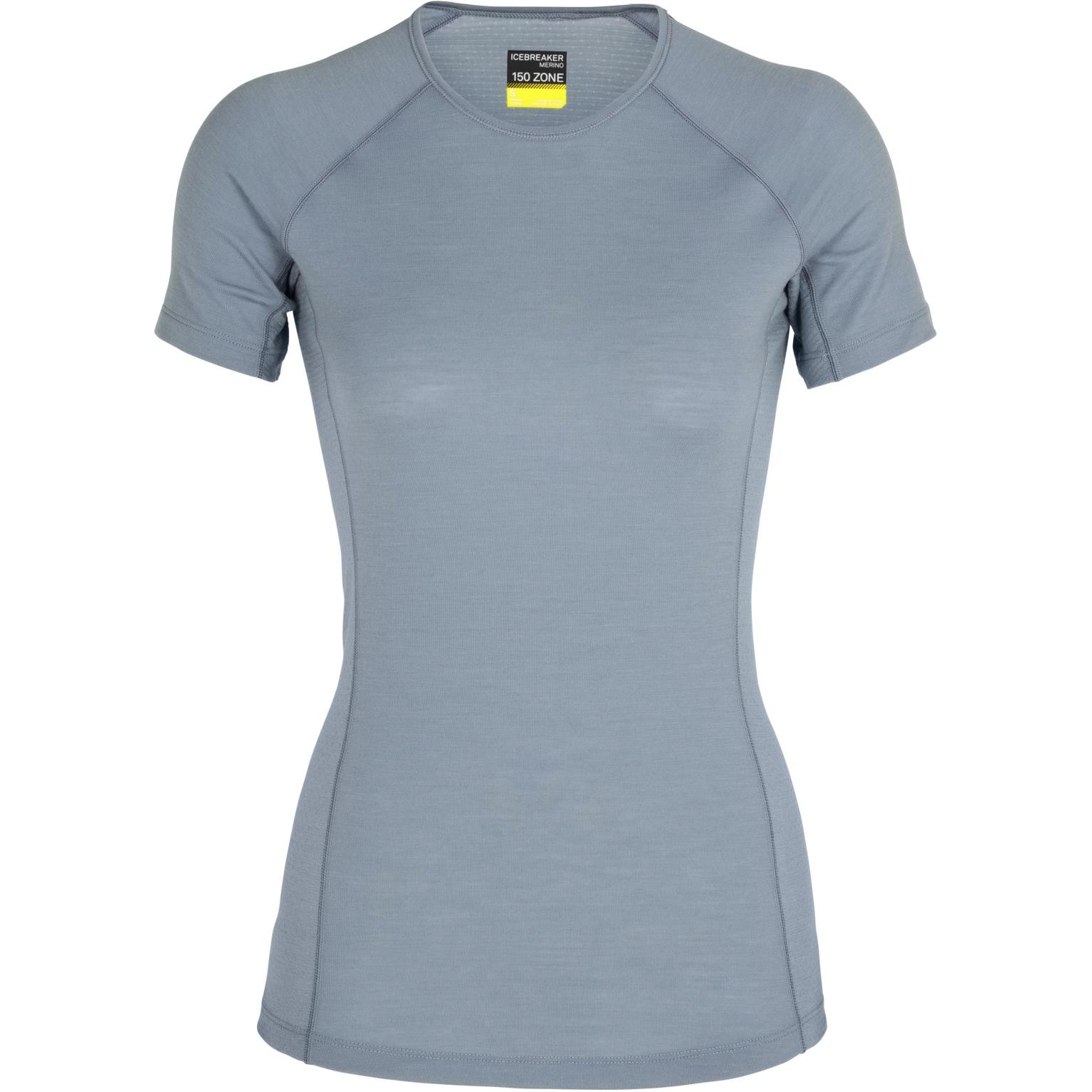 Produktbild von Icebreaker 150 Zone Crewe Damen T-Shirt - Gravel