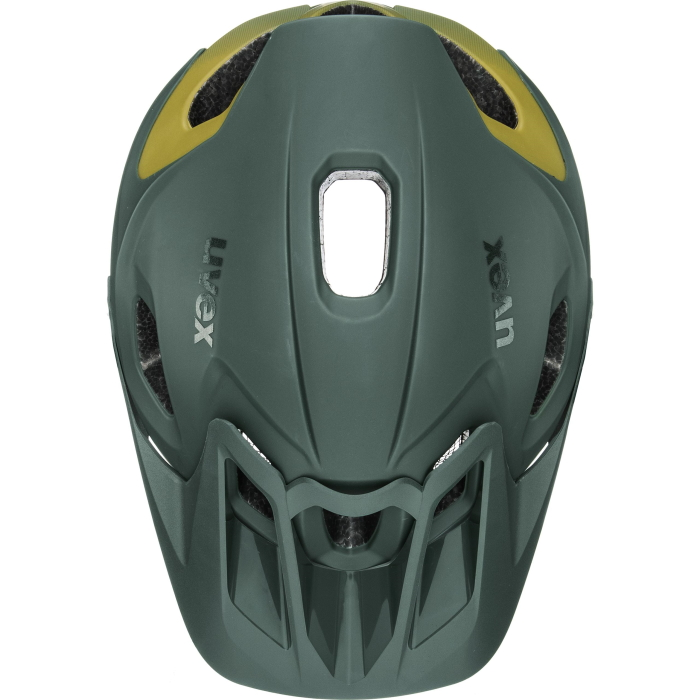 Image of Uvex quatro integrale Tocsen Helmet - forest - mustard mat