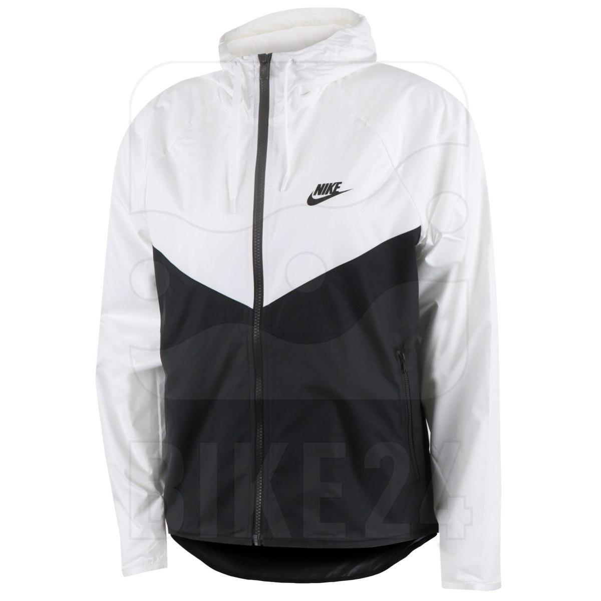 Nike Sportswear Windrunner Damenjacke - white/black/black BV3939-101