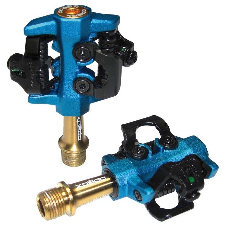 Bild von Xpedo CXR Pro Ti Pedal - blau/gold