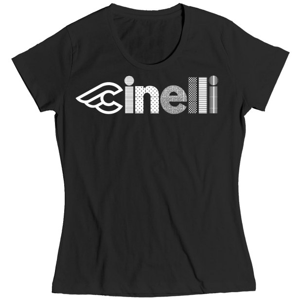 Cinelli Optical Lady T-Shirt - black