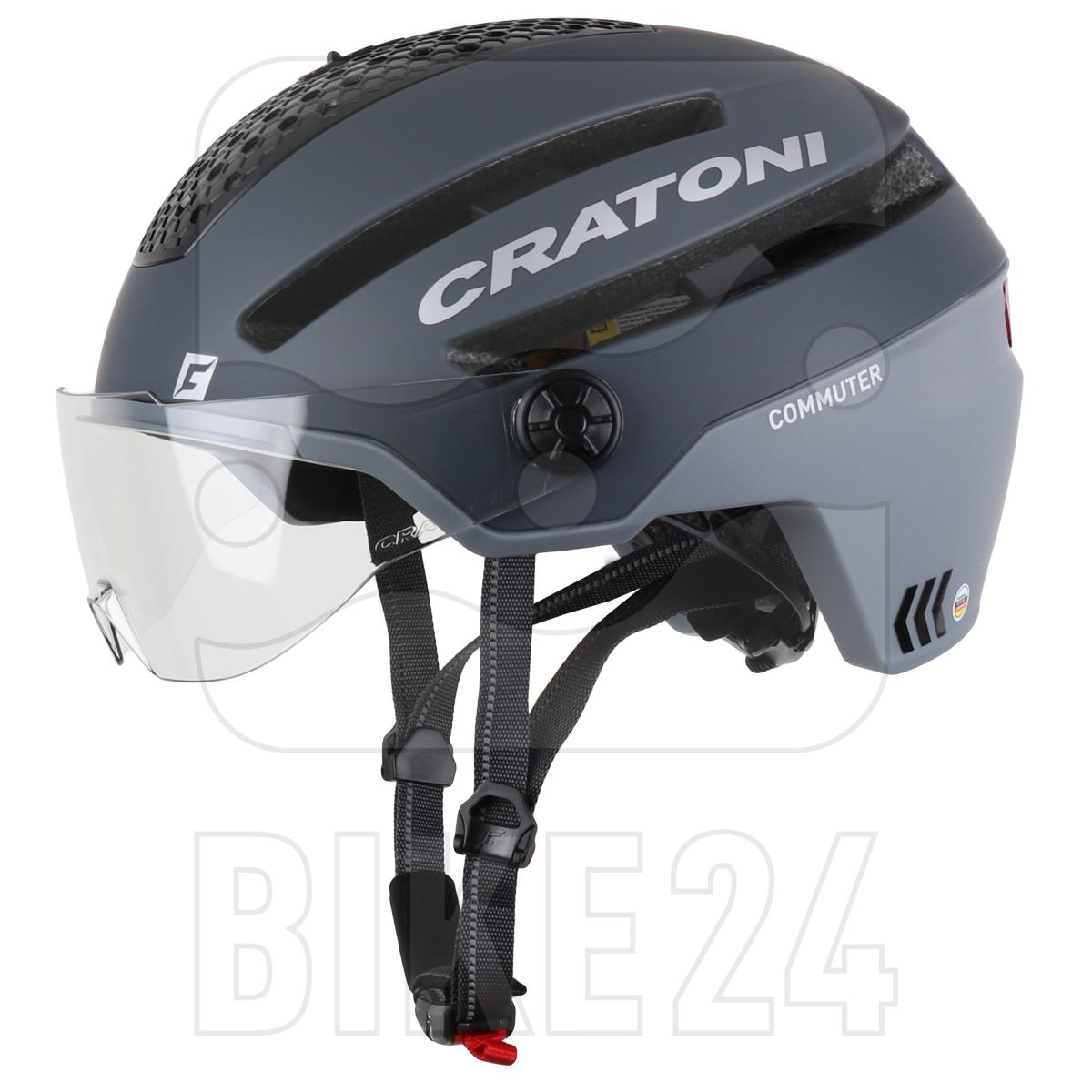 CRATONI Commuter Helmet - grey matt