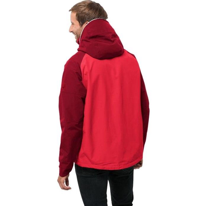 Image of Jack Wolfskin Apex Summer Peak JKT M - peak red