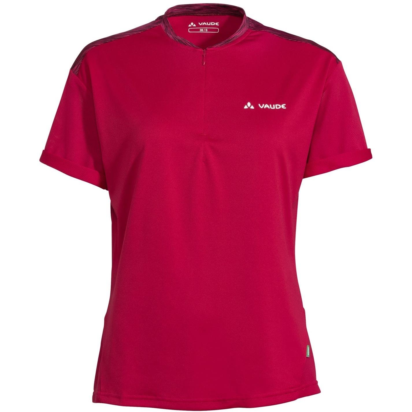 Vaude Qimsa Damen T-Shirt - crimson red
