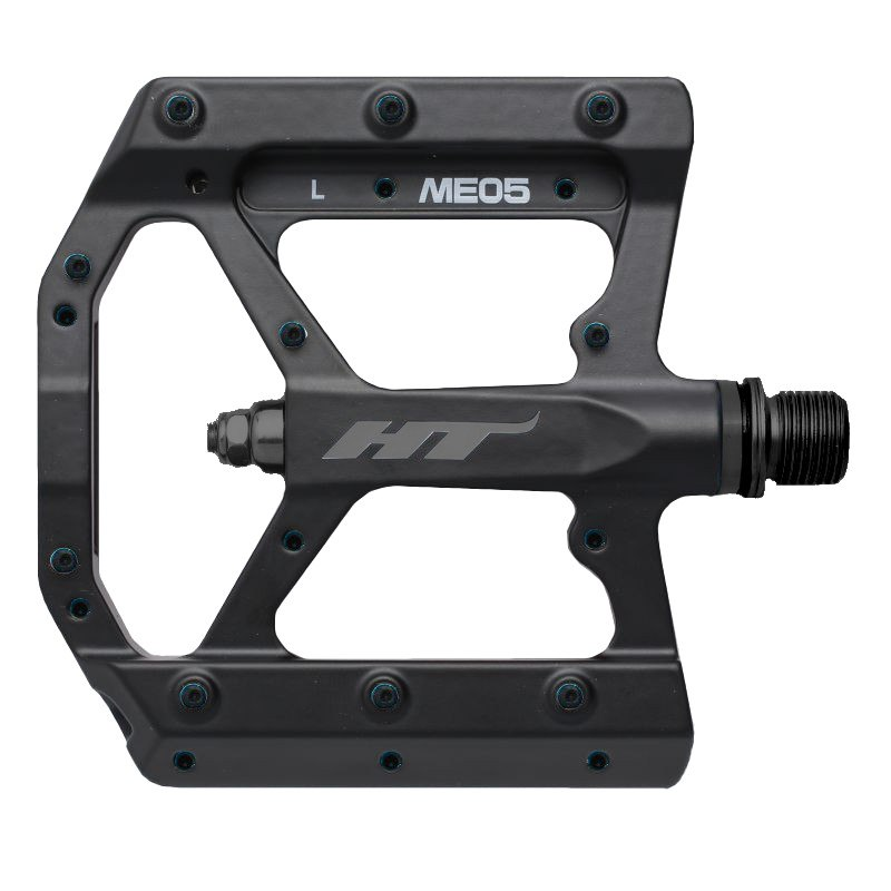 HT ME05 EVO+ Flat Pedal Magnesium - stealth black