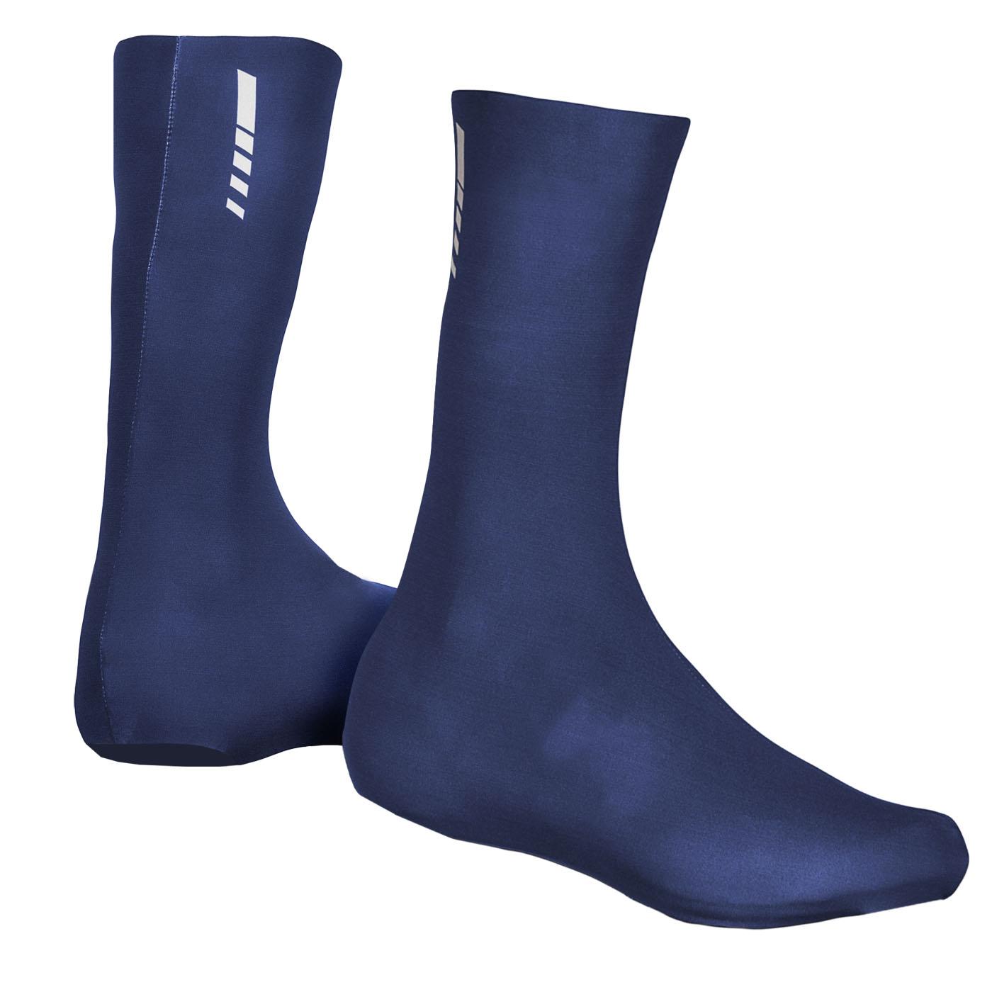 GripGrab RaceAero TT Raceday Lycra Shoe Cover 2 - Navy Blue