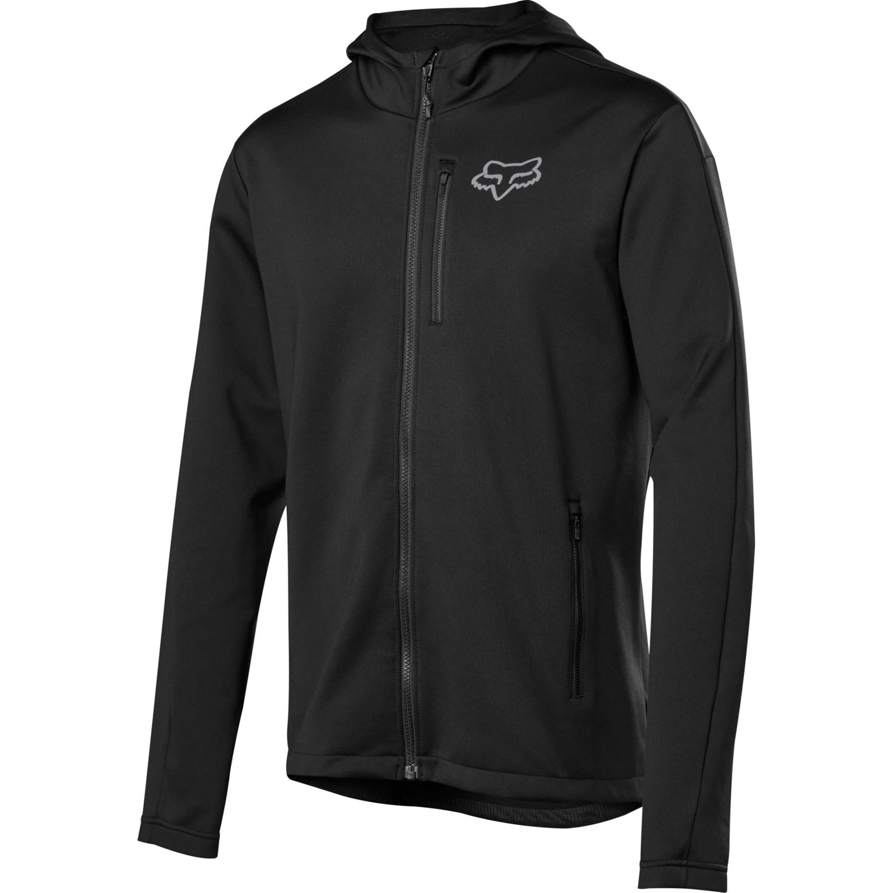 FOX Ranger Tech Fleece MTB Chaqueta - black