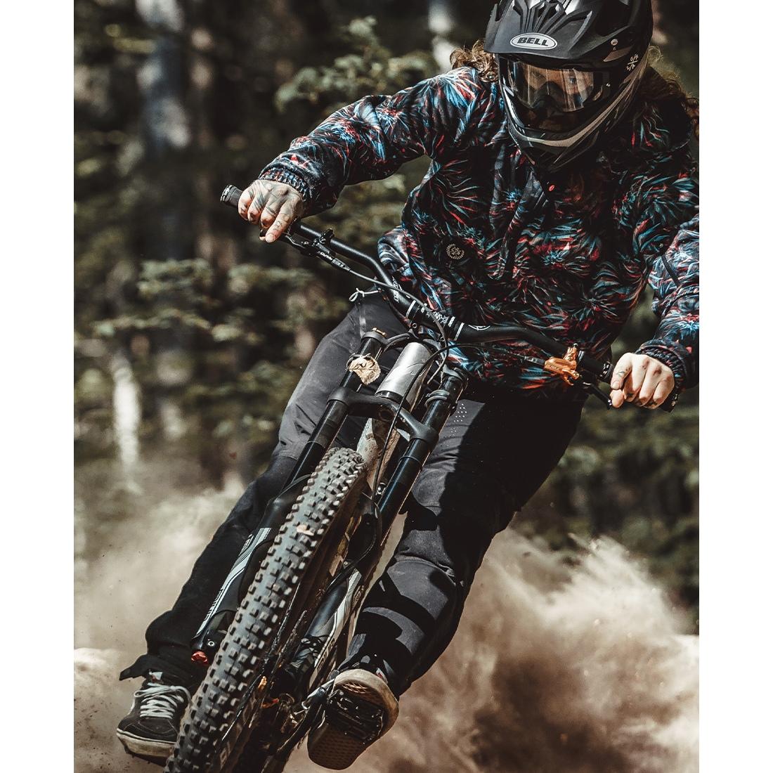 Image of Loose Riders Fleece Anorak LR-MOJA - Purple Haze