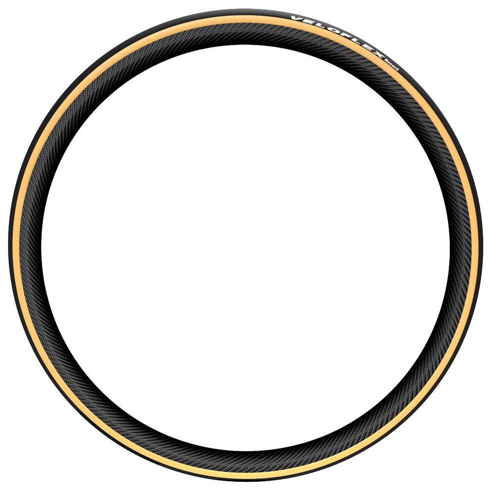 Image of Veloflex Record Open Tubular Folding Tire - 23-622 - black / gum sidewall