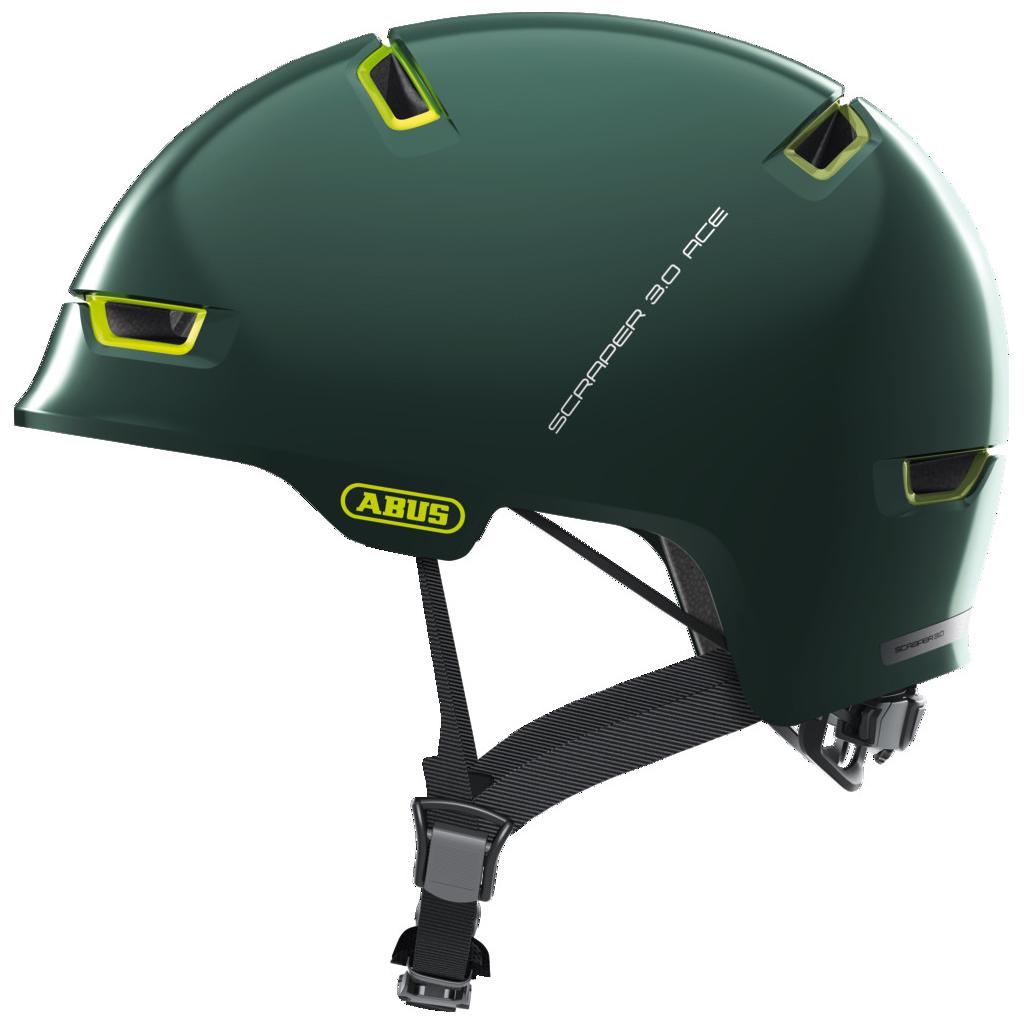 ABUS Scraper 3.0 ACE Casco - ivy green