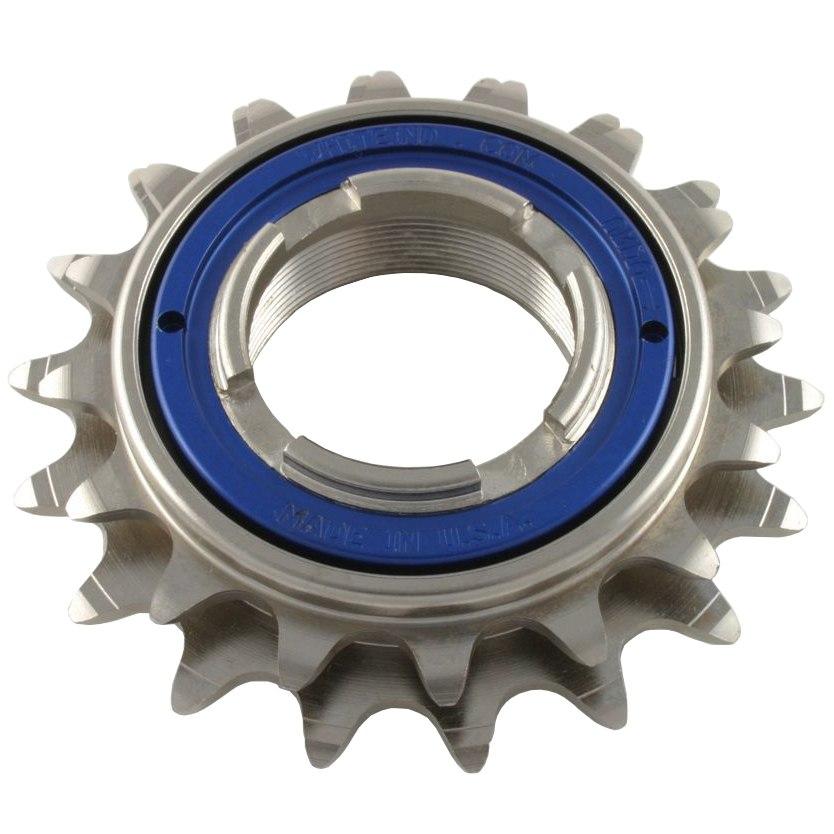 White Industries DOS ENO Freewheel 16/18 teeth - blue locking ring