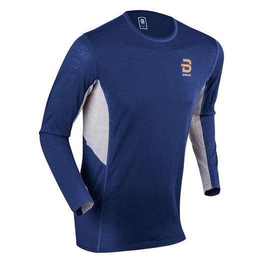 Daehlie Training Wool Long Sleeve - estate blue 25300