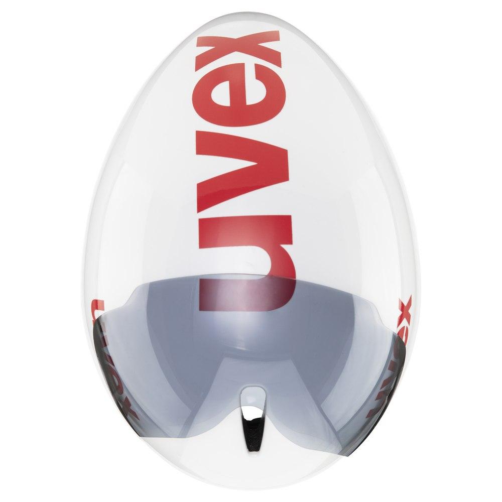Bild von Uvex race 8 Helm - white red