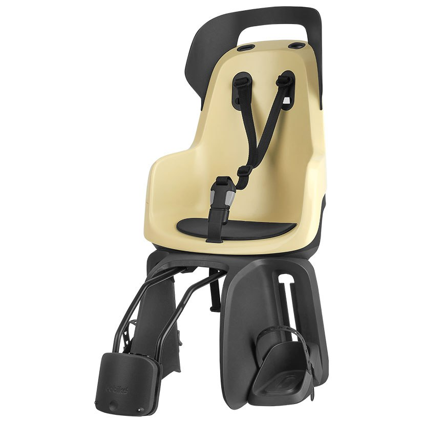 Bobike GO Child Bike Seat - Frame Mount - Lemon Sorbet