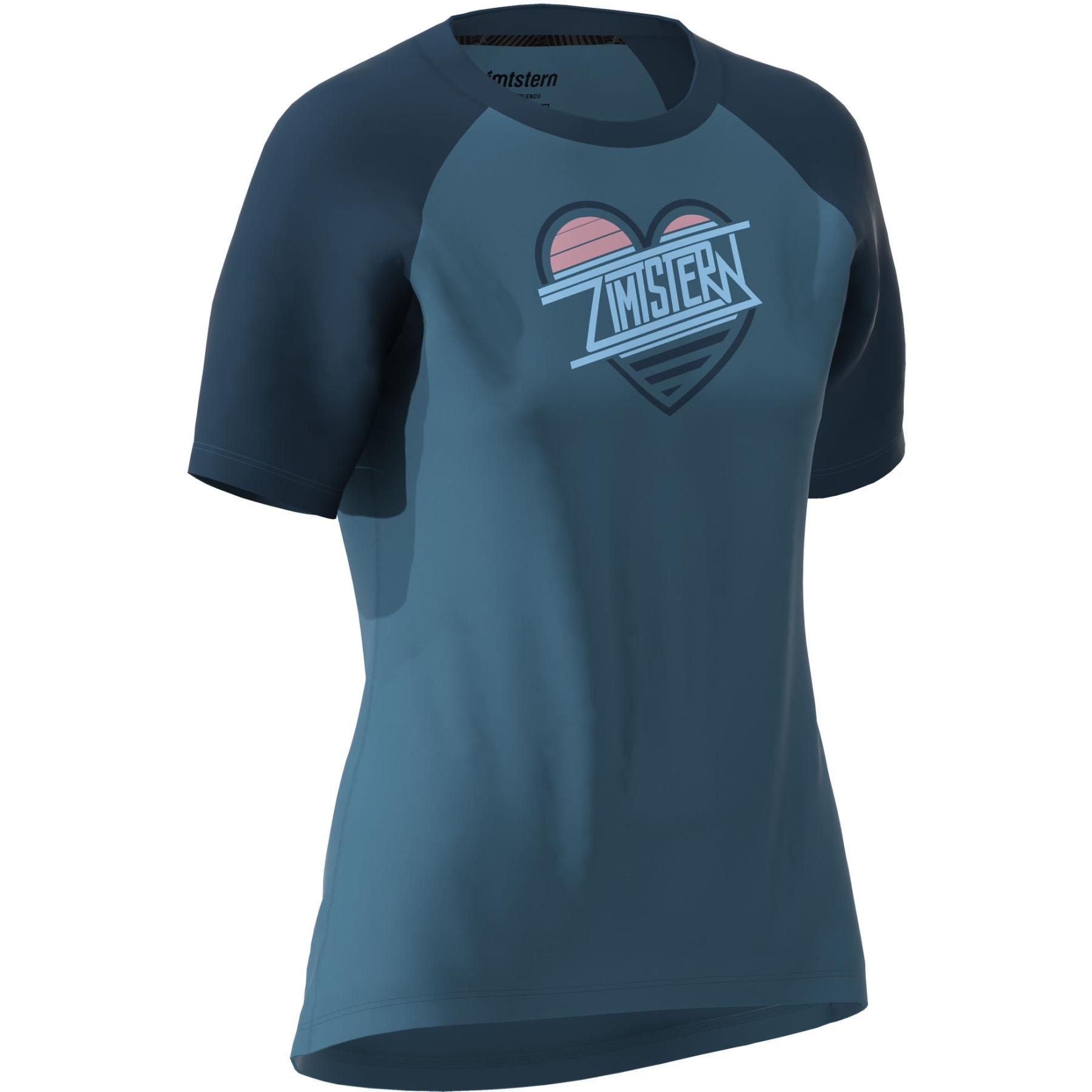 Bild von Zimtstern Heartz T-Shirt Damen - blue steel/french navy