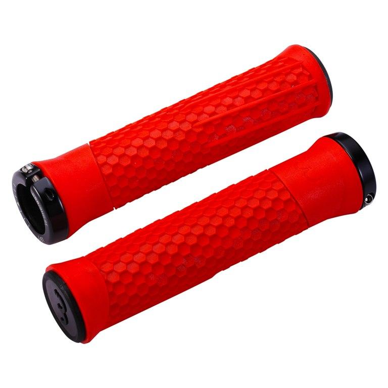 BBB Cycling Python BHG-95 Bar Grips - red