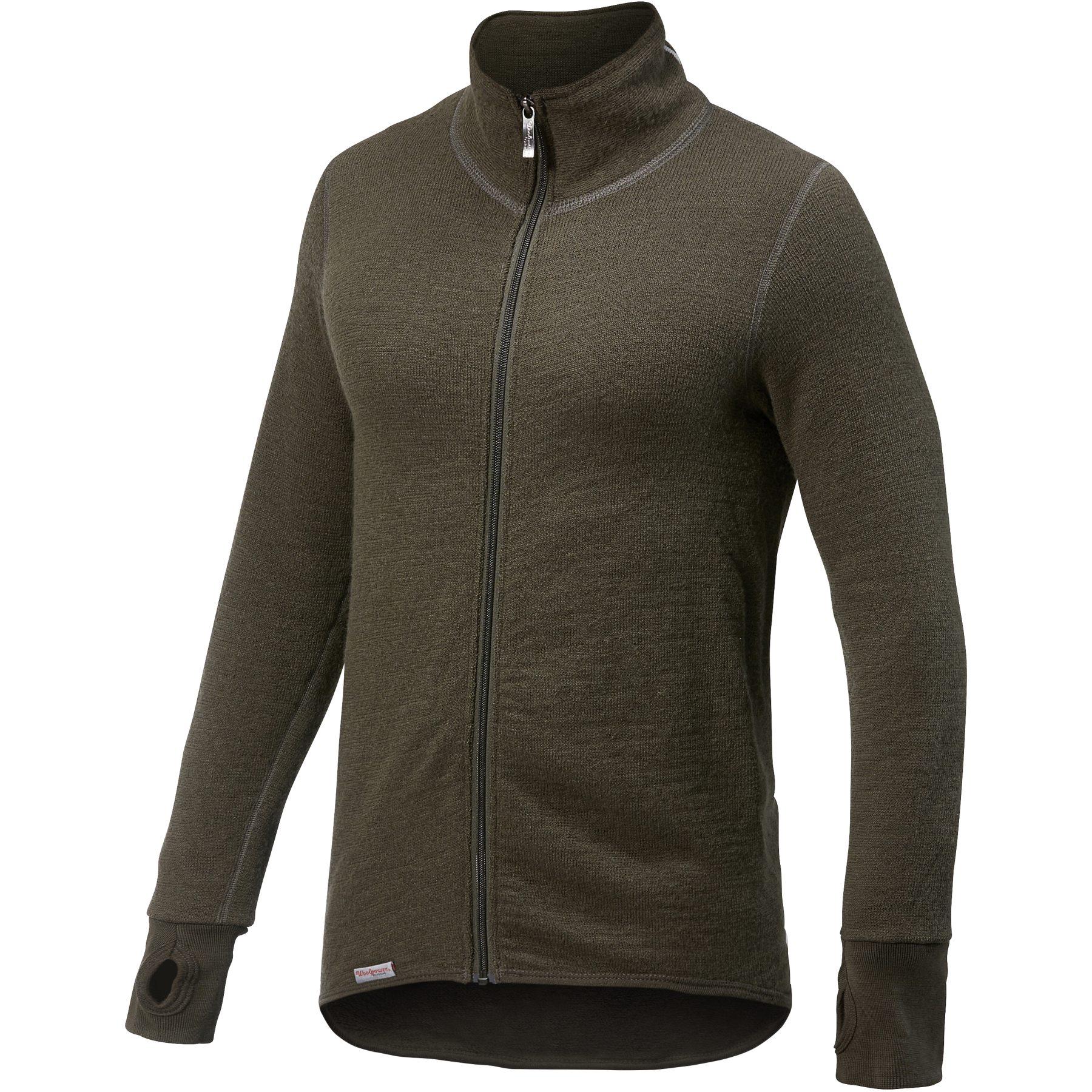 Woolpower Full Zip Jacket 400 - pine green