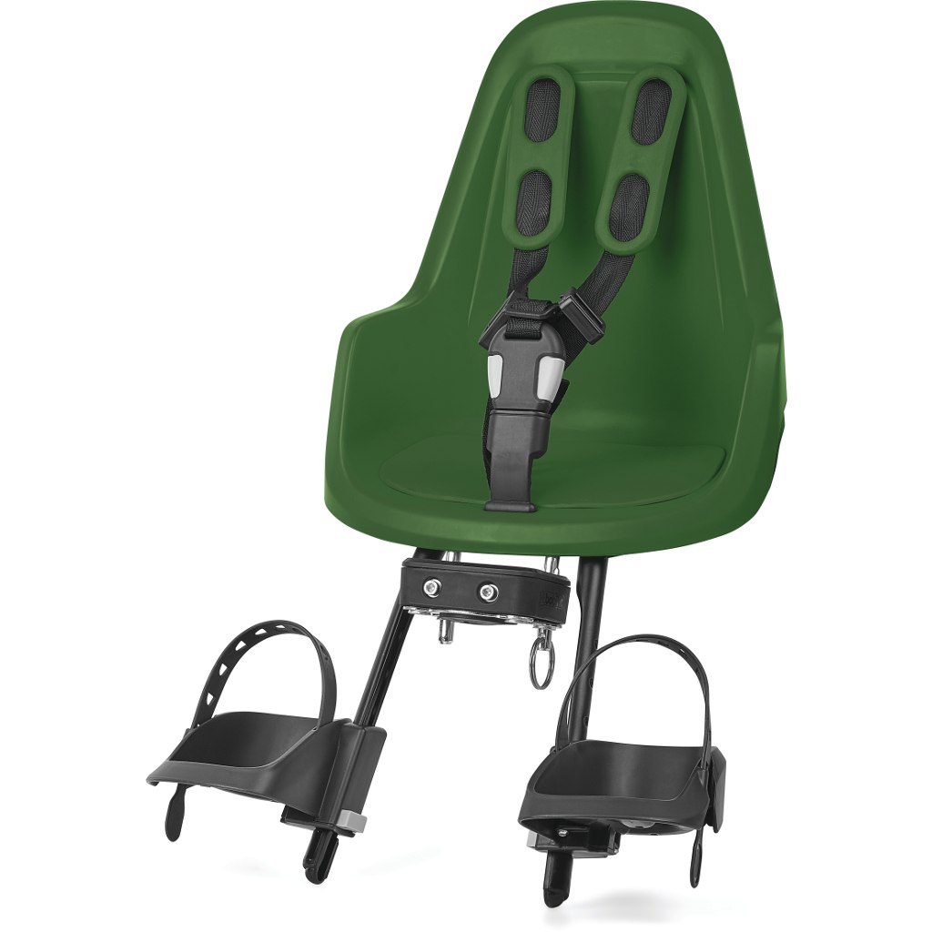 Image of Bobike ONE mini Child Bike Seat - Olive Green
