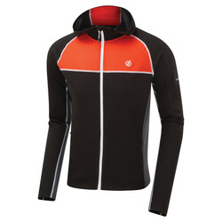 Dare 2b Perennial Wool Sweater Jacket - 2T2 Black/TrailBlaze