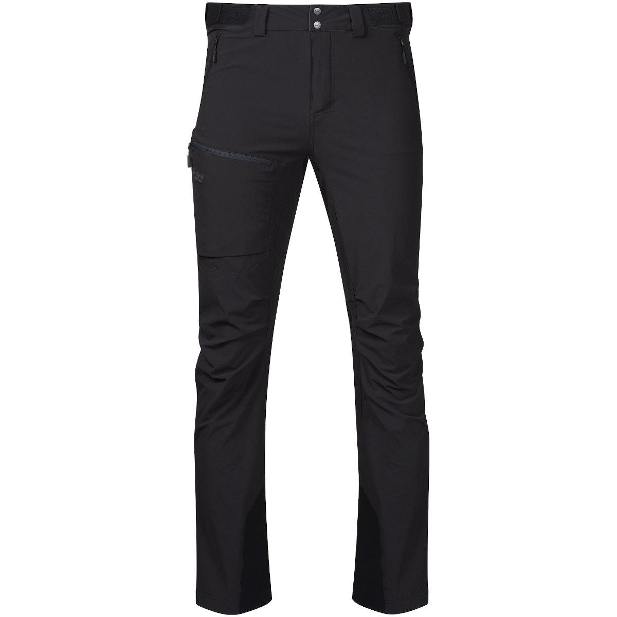 Bergans Breheimen Softshell Pants - black/solid charcoal