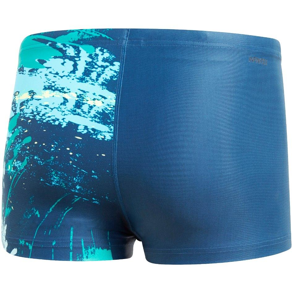 Image of adidas Men's Parley Commit Swim Boxers - legend ink DP7527
