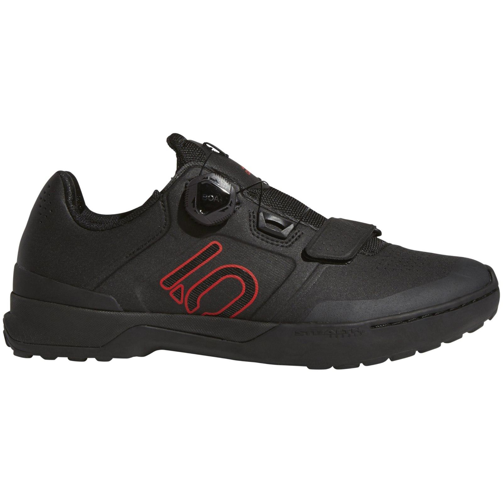 Foto de Five Ten Kestrel Pro Boa MTB Zapatillas de bicicleta - Core Black / Red