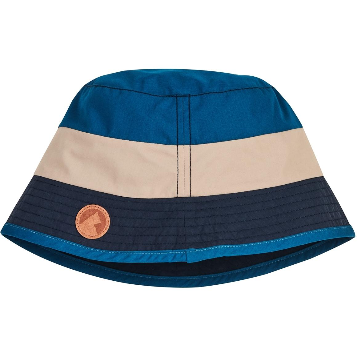 Picture of Finkid LASSE Kids Sun Hat - nautic/pebble