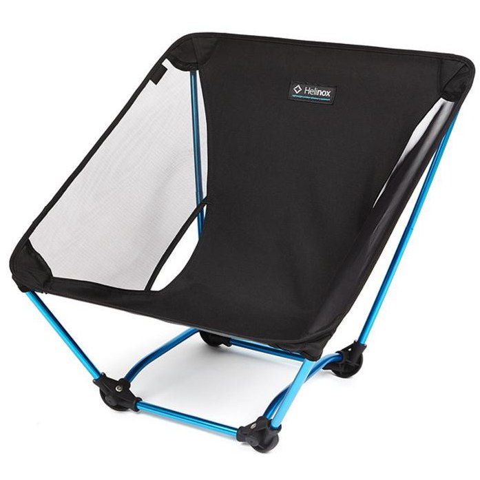 Foto de Helinox Ground Chair Silla de camping - Black / O. Blue