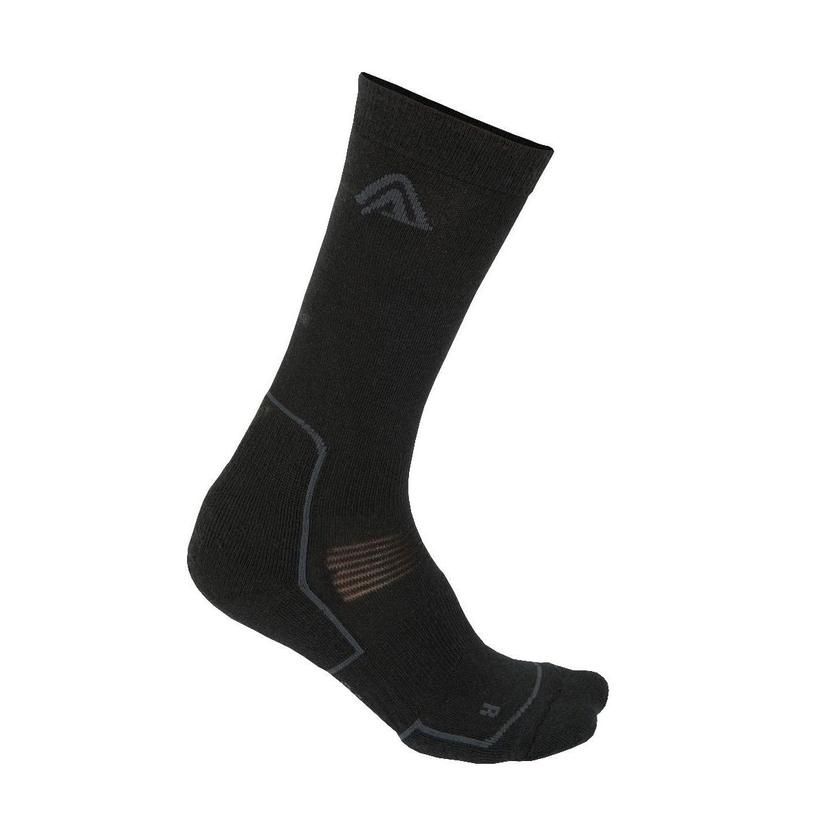 Image of Aclima Trekking Socks - jet black