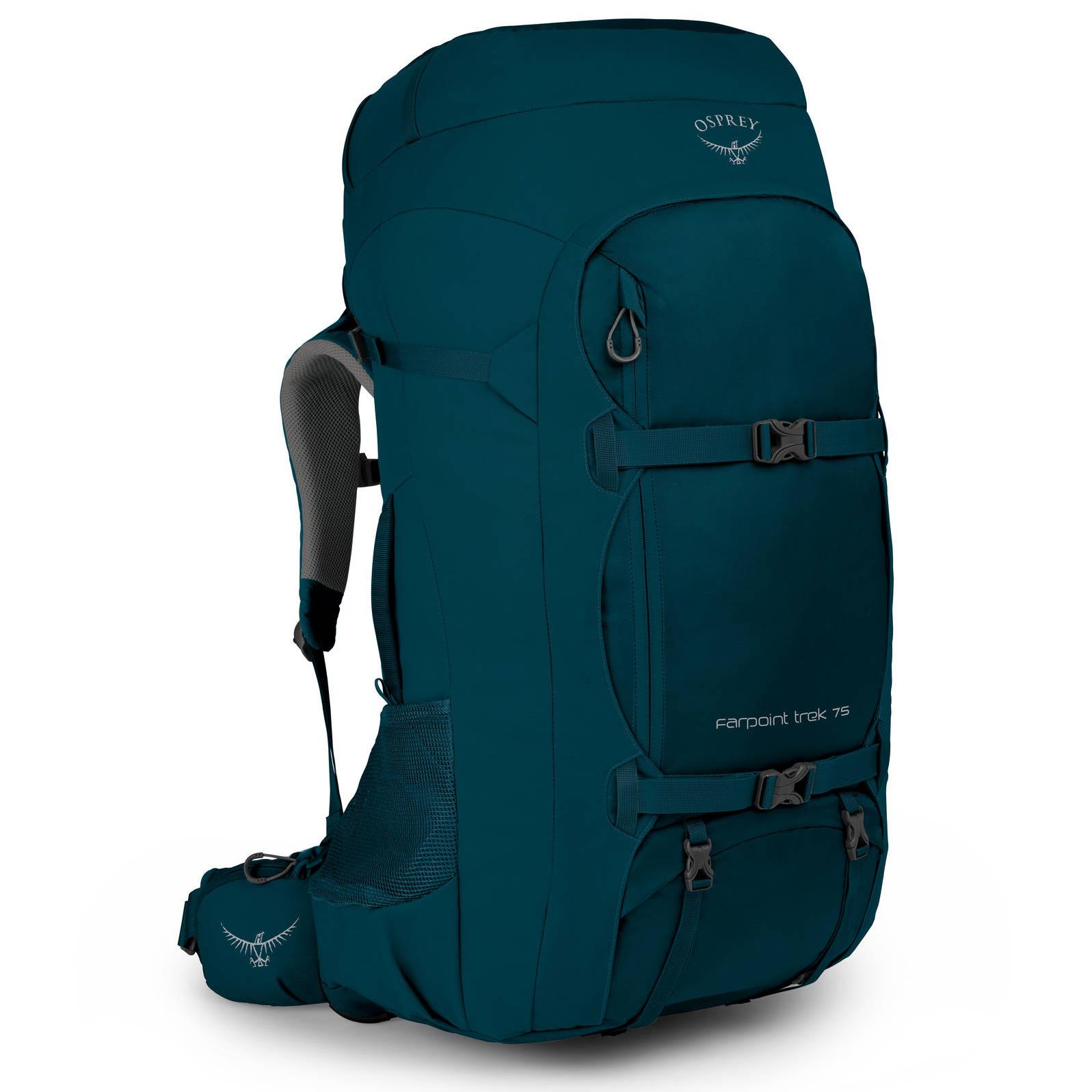 Osprey Farpoint Trek 75 - Backpack - Petrol Blue