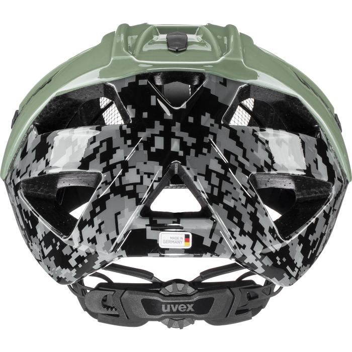 Image of Uvex quatro Helmet - pixelcamo - olive