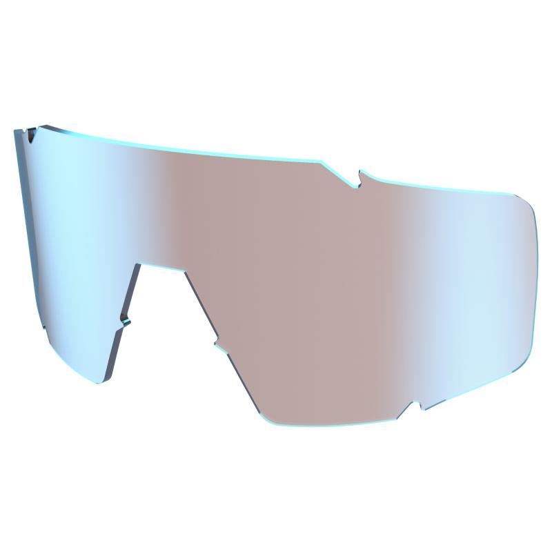 SCOTT Shield Lens - blue chrome amplifier