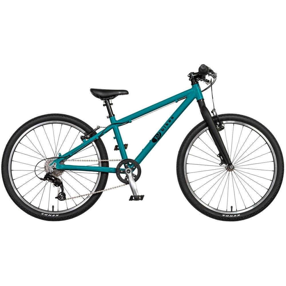 Image of KUbikes 24L MTB 8-Speed Kids Bike - turquoise glitter