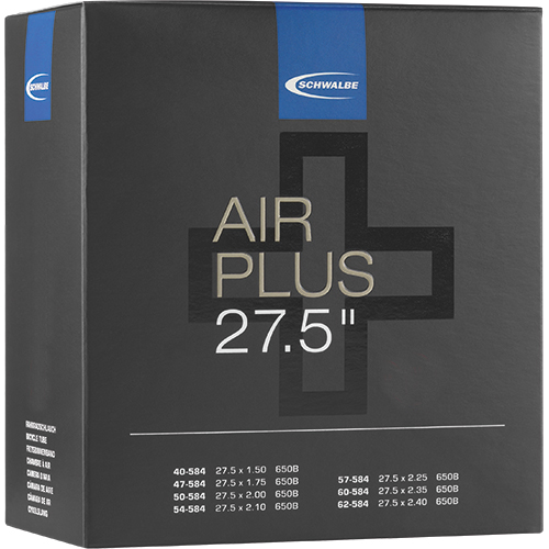 "Schwalbe Schlauch - Air Plus -  27.5"" (40/62-584) - AV 21AP - Auto-Ventil"