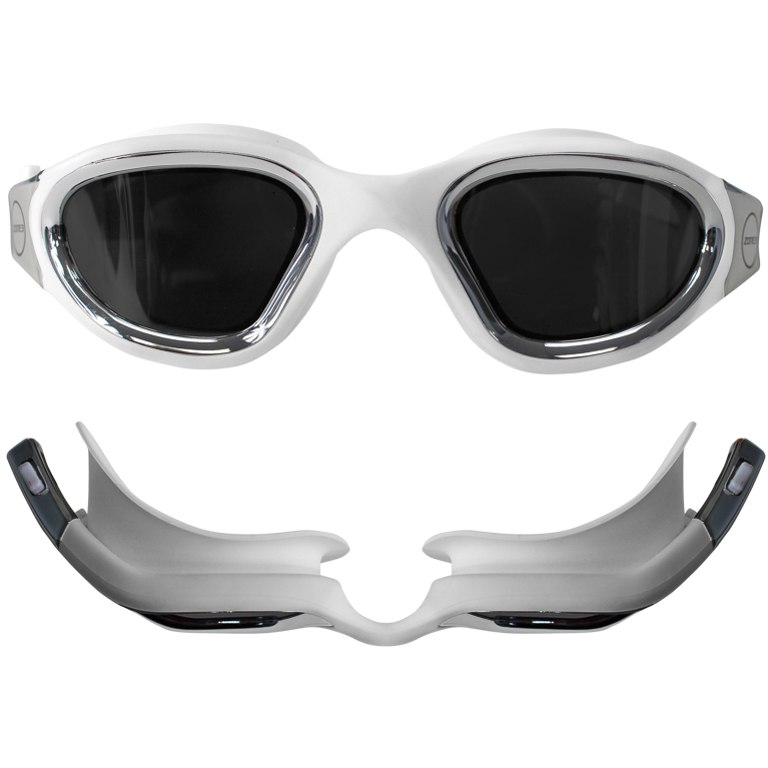 Image of Zone3 Vapour Goggles - Polarized - white/silver
