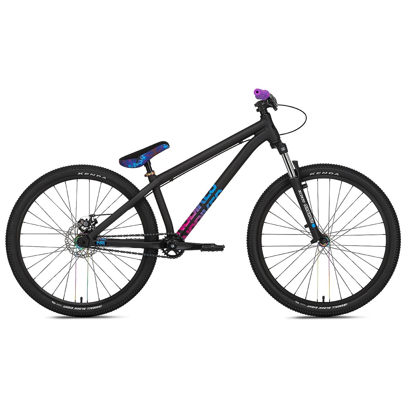 "NS Bikes ZIRCUS - 26"" Pumptrack / Funbike - 2021 - black"