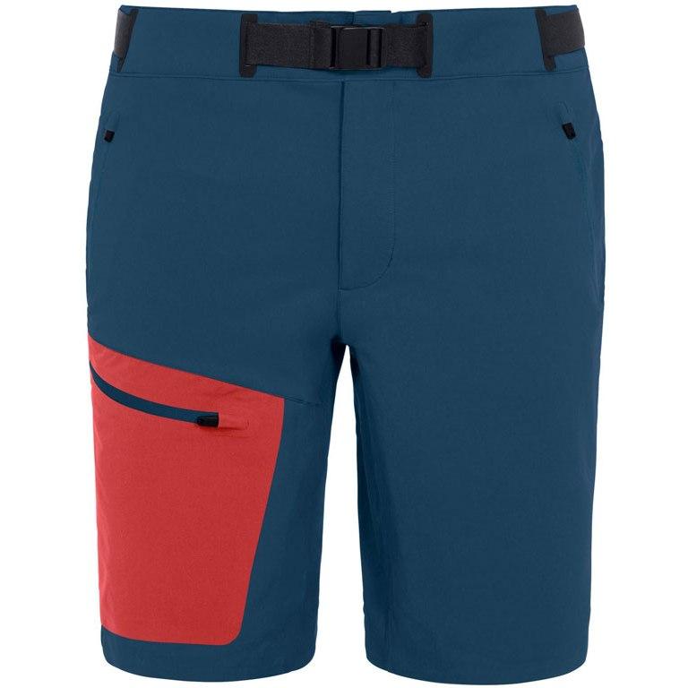 Vaude Men's Badile Shorts - baltic/mars red