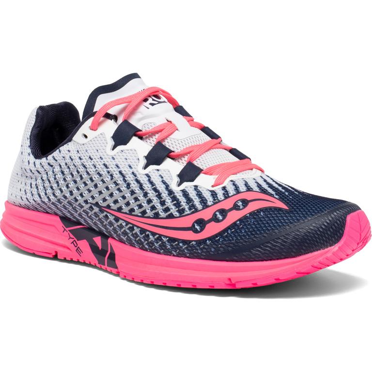 Produktbild von Saucony Type A9 Damen-Laufschuh - white / pink