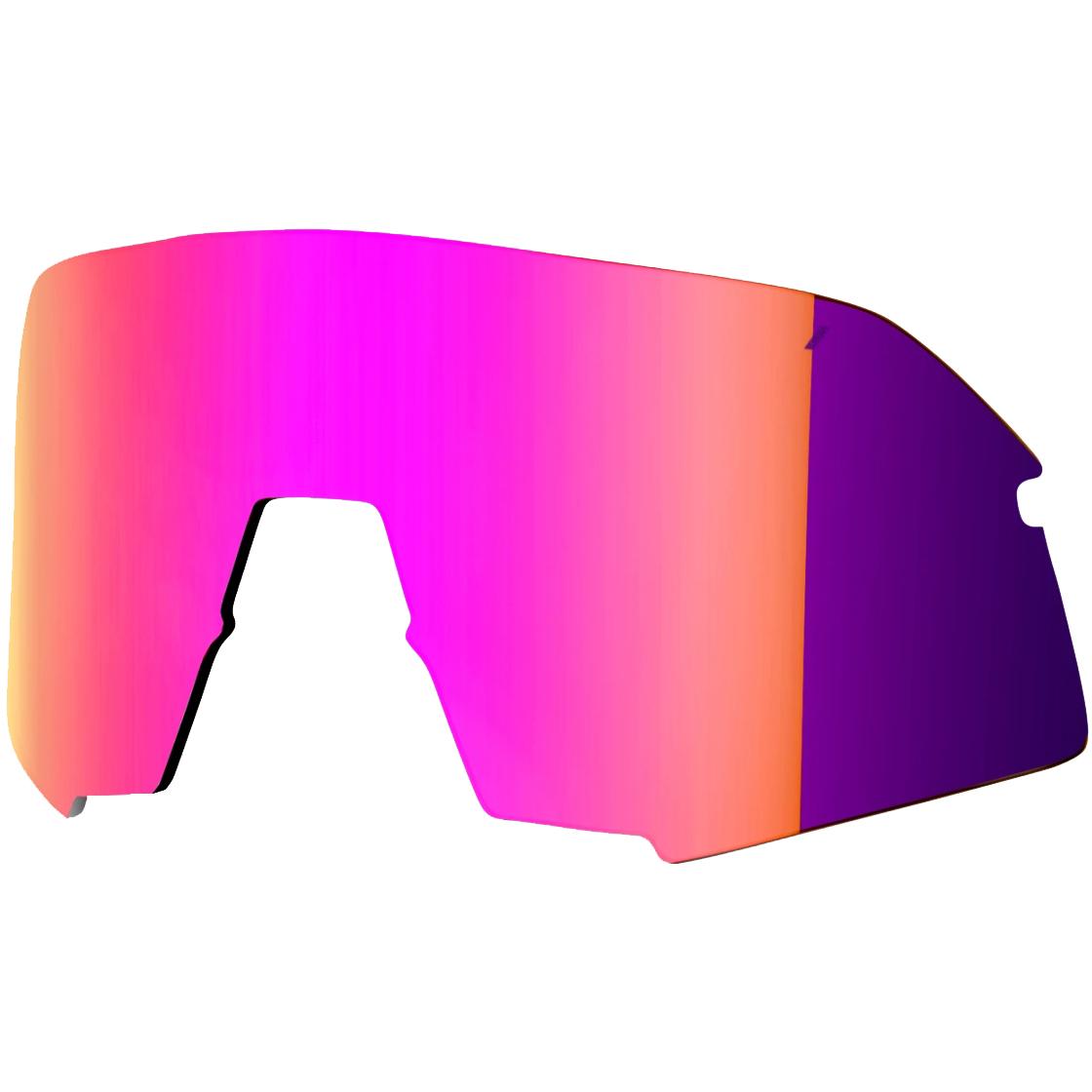 100% S3 Mirror Lente de repuesto - Purple Multilayer Mirror